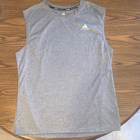 Boys Sleeveless Adidas Shirt